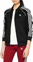 Adidas Originals Womens SST Track Top Adicolor Superstar Sweatshirt Jacket Black