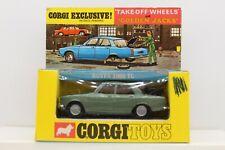 Vintage Corgi Toys Rover 2000TC No. 275 with Golden Jacks