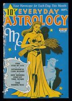 Everyday Astrology Magazine September 1943! Incredibly Rare! Alex Schomburg Art!