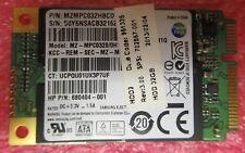 HP Samsung HP Samsung MZMPC032HBCD SSD HDD Mini PCIe mSATA Module 680404-001