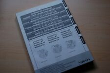 KUBOTA WG 1605 2503 3800 GAS LPG Engine Operation Operator Manual OWNER BOOK