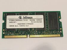 128MB PC133 144 pin sodimm ordinateur portable mémoire fba10a25