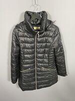 MICHAEL KORS PUFFER Coat - Size Medium - Black - Great Condition - Women's