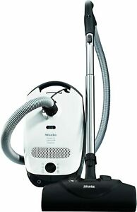 Miele Classic C1 Cat & Dog Canister Vacuum Cleaner, Lotus White Discount only fo