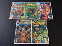 Grab Bag/Chase Comics, 1st Appearances - Avengers 196, 144, 10, New Mutants 98