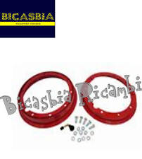 8895 - CERCHIO 2.10-10 TUBELESS SCOMPONIBILE ROSSO VESPA 125 150 200 PX ARCOBALE