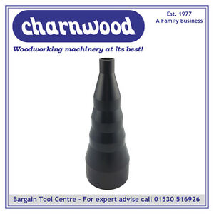 CHARNWOOD 100/25RC Stepped Reducing Cone 100mm to 25mm