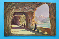 Schweiz Uri Künstler-AK Axenstraße 1905-1910 Ortsansicht Künstler R. Carl