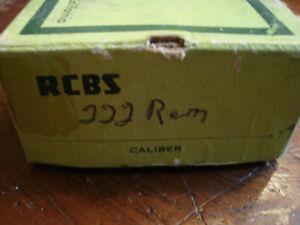 RCBS 222 REM 2 die set