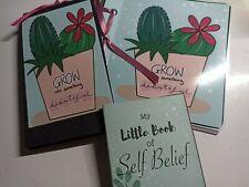 Handmade, Mini Album, Inspirational, positivity, Cactus, notebook, journal, gift