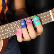 4 In 1 Guitar Fingertip Protectors Silicone Finger Guards For Ukulele  Small