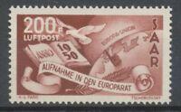 SARRE. Poste Aérienne N°13 NEUF*, TB SIGNE CALVES COTE 230€ T3272
