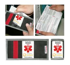 MediPal Seatbelt ID, Bum bag ID, Back-pack Emergency ID