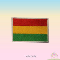 Bolivia National Flag Embroidered Iron On Patch Sew On Badge