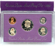 1989 S US Mint  Proof Coin Set