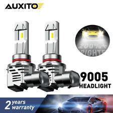 AUXITO 9005 LED Headlight Kit 120W 240000LM High Low Beam Bulb HB3 6500K White