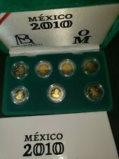 Mint set proof bank of Mexico  Independence day 1810 -2010 NICE IN CAP AND CASE