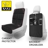 Luxury Car Seat Protector Kick Mat Maximum Padding for Child & Infant | Cushions
