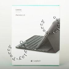 Logitech Canvas Keyboard Cover Case for iPad mini iPad mini 2 iPad mini 3 Black