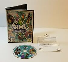 Sims 3 Generations PC CD-Rom 2011 Windows Mac expansion pack addon