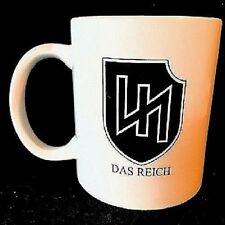 WW2 German Military - Army PANZER DIVISION Ceramic Coffee/Tea Mug - 11 oz. (4)