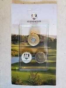 Ryder Cup Gleneagles Scotland Ball Marker