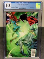 Superman / Batman #49 CGC 9.8 (DC 2008) Power Girl Appearance, New Slab! NM/MT!