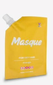 NEW 1 x Brite Organix Hair Masque Mask Treatment  Mango for Dry Hair - REDUCED