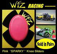WIZ SPARKY PINK PLASTIC KNEE SLIDERS