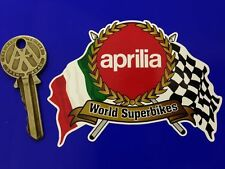 APRILIA Superbike Garland helmet or motorcycle sticker