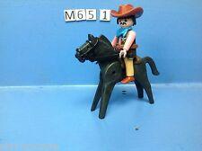 (M65.1) playmobil un shériff à cheval
