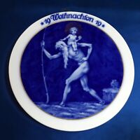 Rosenthal 1919 St Christophers Christmas Collectors Plate Selb Bavaria