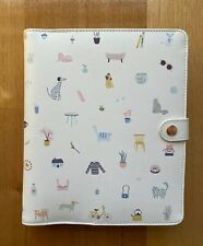 Kikki K White Rose Gold Sweet Large Leather Personal Planner Diary NEW LAST ONE