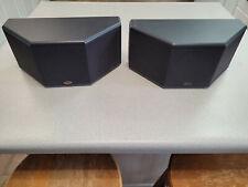 PAIR of KLIPSCH SS-5 Bookshelf Surround Speakers 50-Watt SS.5 SS5