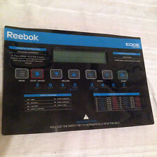 REEBOK EDGE 2.2 TREADMILL REE-11301 ( CONSOLE PCB FOR SALE ONLY) **NOBA**