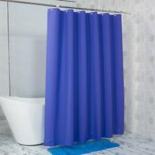 Shower Curtain 72 X 72 Blue Purple Eva 8G Thick Bathroom Rust Resistant Grommets