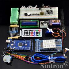 [Sintron] Mega 2560 Starter Kit + LCD Servo Motor Sensor for Arduino AVR Learner