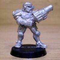 Necromunda Adeptus Arbites With Grenade Launcher , Warhammer 40k, Games Workshop