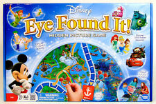 Disney EYE FOUND IT! Hidden Picture Game - FIND IT  Cars Mickey Aladdin Pooh EUC
