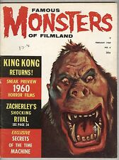 Famous Monsters #6 VG/FN February 1960