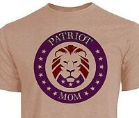 The Patriot Party -MAGA- Patriot MOM (Purple) - Support Trump - Fast Shipping
