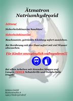 Ätznatron Natriumhydroxid Perlen / Flocken NaOH Caustic Soda Seifennatron
