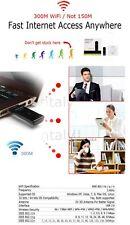 300Mbps USB Wireless Adapter WiFi Network 300M LAN Card 802.11n/g/b &3Di Antenna