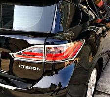 IDFR Lexus CT200 CT200h 2011~2018 Chrome frame bezel for tail lights