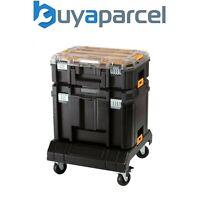 Dewalt DWST1-71195 TSTAK VI Deep Tool Storage Case + Organiser + Cart Trolley