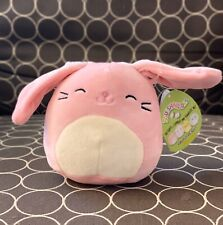 "NWT Squishmallow 5"" Pink Bunny Rabbit Bop Exclusive Edition Easter 2020 Kellytoy"