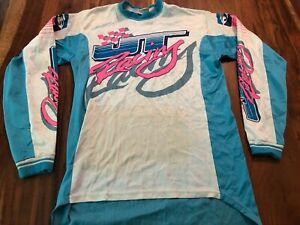 Vintage JT Racing Cotton Motocross Jersey - made in USA - size Large