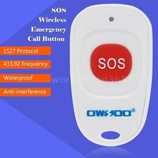 OWSOO SOS Wireless Emergency Call Button Home Security Alarm System defence R0K6