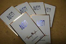 JOB LOT X 6 ALIEN VIALS WEDDING FAVOURS LADIES PERFUME SAMPLES HEN PARTY