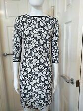 Reiss Black and White Dress Size 6 UK.